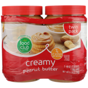 Food Club Creamy Peanut Butter