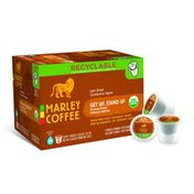 Marley Coffee Get Up, Stand Up K-Cup Pods Light Roast Coffee Mild, Bright, Floral - 12 CT
