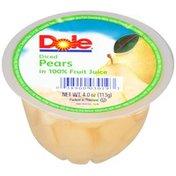 Dole Diced in 100% Fruit Juice Pears
