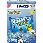 Oreo Mini Chocolate Sandwich Cookies, Original Flavor, 12 Snack Packs