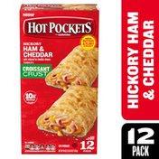 Hot Pockets Hickory Ham & Cheese Frozen Sandwiches