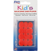 Flents Ear Plugs, Silicone, Kid's