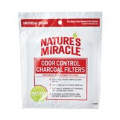Nature's Miracle Odor Control Universal Charcoal Litter Box Filter
