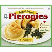 Golden. Pierogies, Potato & Onion