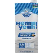 Manitoba Harvest Hemp Milk, Vanilla, Unsweetened