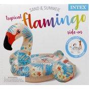 Intex Pool Float, Ride-On, Tropical Flamingo