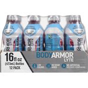 BODYARMOR Sports Drinks, Blueberry Pomegranate, 12 Pack