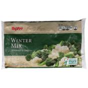 Hy-Vee Freshly Frozen Winter Mix With Broccoli & Cauliflower