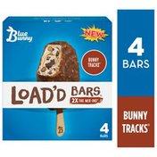 Blue Bunny Load'd Bars Bunny Tracks