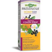 Nature's Way Sambucus HoneyBerry NightTime Cough Syrup for Kids