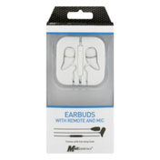 MobilEssentials Earbuds with Remote and Mic