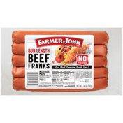 Farmer John Bun Length Beef Franks