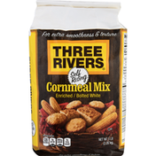 Three Rivers Cornmeal Mix, Enriched/Bolted White