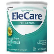 Elecare Hypoallergenic DHA/ARA Unflavored with Iron Powder Elecare Hypoallergenic DHA/ARA Unflavored Infant Formula with Iron Powder