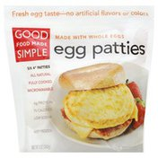 Good Food Made Simple Egg Patties, 4 Inch