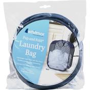 Whitmor Laundry Bag, Blue