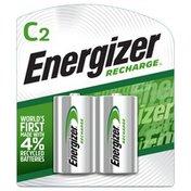 Energizer Rechargeable C Batteries, C Cell Batteries