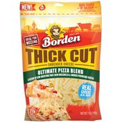Borden Thick Cut Ultimate Pizza Blend Shredded  Borden Thick Cut Ultimate Pizza Blend Shredded Cheese