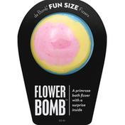 Da Bomb Bath Fizzer, Flower Bomb, Fun Size