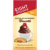 Eight O'Clock Coffee Coffee, Ground, Chocolate Raspberry Biscotti