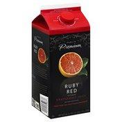 Publix Premium Juice, Grapefruit, Ruby Red, Pulp Free