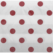 Celebrations Napkins, Dots & Stripes, Classic Red, 2-Ply