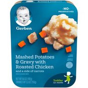 Gerber Lil' Entrees Mashed Potatoes and Gravy with Roasted Chicken and Carrots Toddler Food