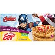 Kellogg's Eggo Limited Edition Cinnamon Explosion Waffles