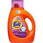 Tide Plus Febreze Freshness Spring & Renewal HE Turbo Clean Liquid Laundry Detergent,