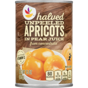 SB Apricot Halves, Unpeeled