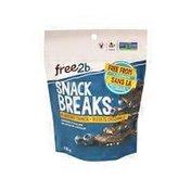 Free2b Foods Snack Breaks Chocolate Blueberry Crunch