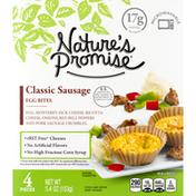 Nature's Promise Egg Bites, Classic Sausage