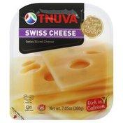 Tnuva Rich in Clacium, Swiss Cheese, Slice, Wrapper