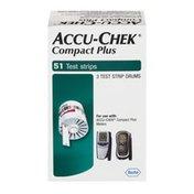Accu-Chek Compact Plus Test Strips - 51 CT