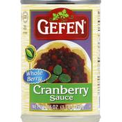 Gefen Cranberry Sauce, Whole Berry