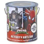 Marvel Activity Art Can, Ultimate Spider-Man vs Sinister 6