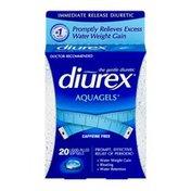 Diurex Aquagels Caffeine Free Liquid-Filled Softgels - 20 CT
