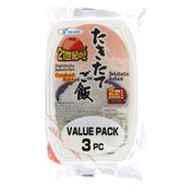 JFC Rice, Japanese, Cooked, Value Pack