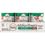 NUTRO Kitchen Classics Grass Fed Lamb and Brown Rice Dinner Adult Dog Food