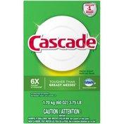 Cascade Powder Dishwasher Detergent, Fresh Scent, 60 ounces