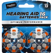 Signature Select Hearing Aid Batteries, Size 13