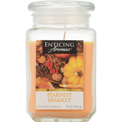 Enticing Aromas Scented Candle, Harvest Market