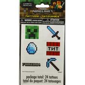 Unique Tattoos, Minecraft, 4 Sheets