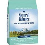 Natural Balance Dog Food, Chicken & Sweet Potato Formula, For Adult Dogs