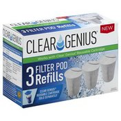 Clear Genius Refills, Filter Pod