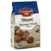 Arrowhead Mills Flour, Organic, Sprouted Wheat