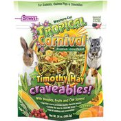 Brown's Western-Cut Tropical Carnival Timothy Hay Craveables Animal Food