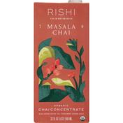 Rishi Tea Chai Concentrate, Organic, Masala