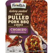 Farm Rich Hand Pulled Pork BBQ & Sauce, Hickory Smoked