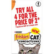 Friskies Cat Concoctions Variety Pack  Cat Food